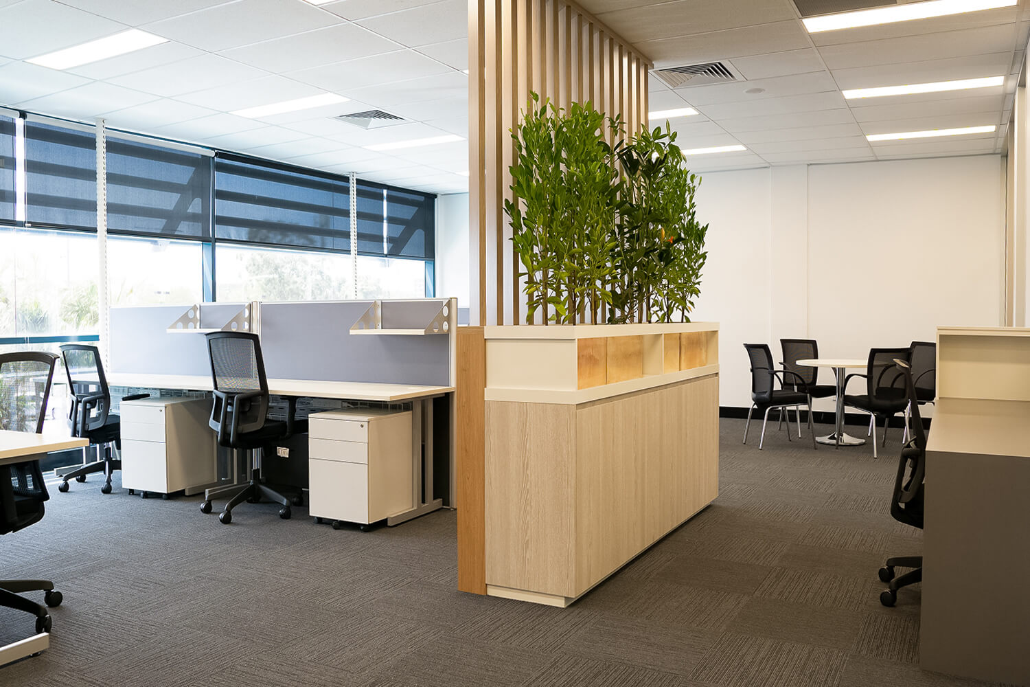 raw commercial projects office fitout brisbane